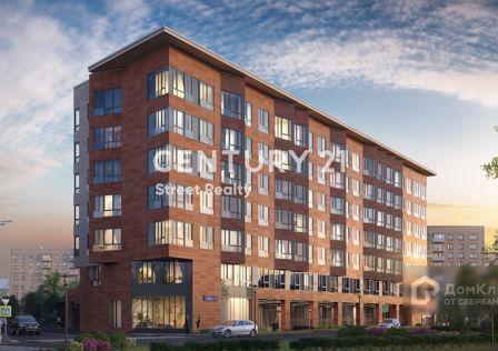 Продаётся 3-комнатная квартира, 121.6 м²