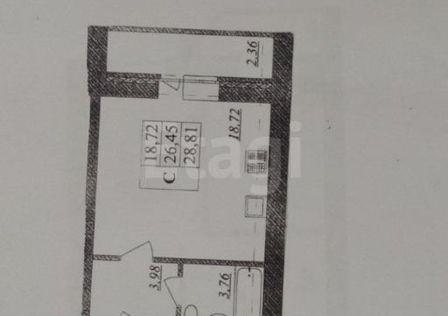 Продаётся студия, 28.81 м²
