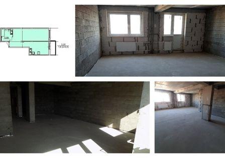 Продаётся 1-комнатная квартира, 45.9 м²