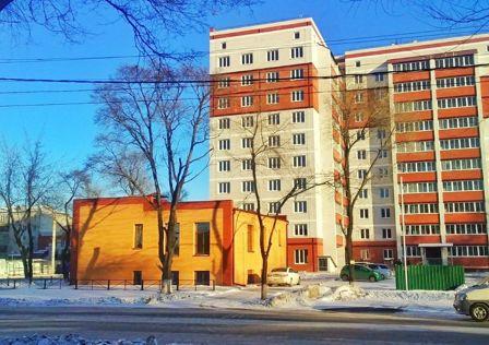 Продаётся 1-комнатная квартира, 45.3 м²