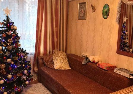 Продаётся 3-комнатная квартира, 56 м²