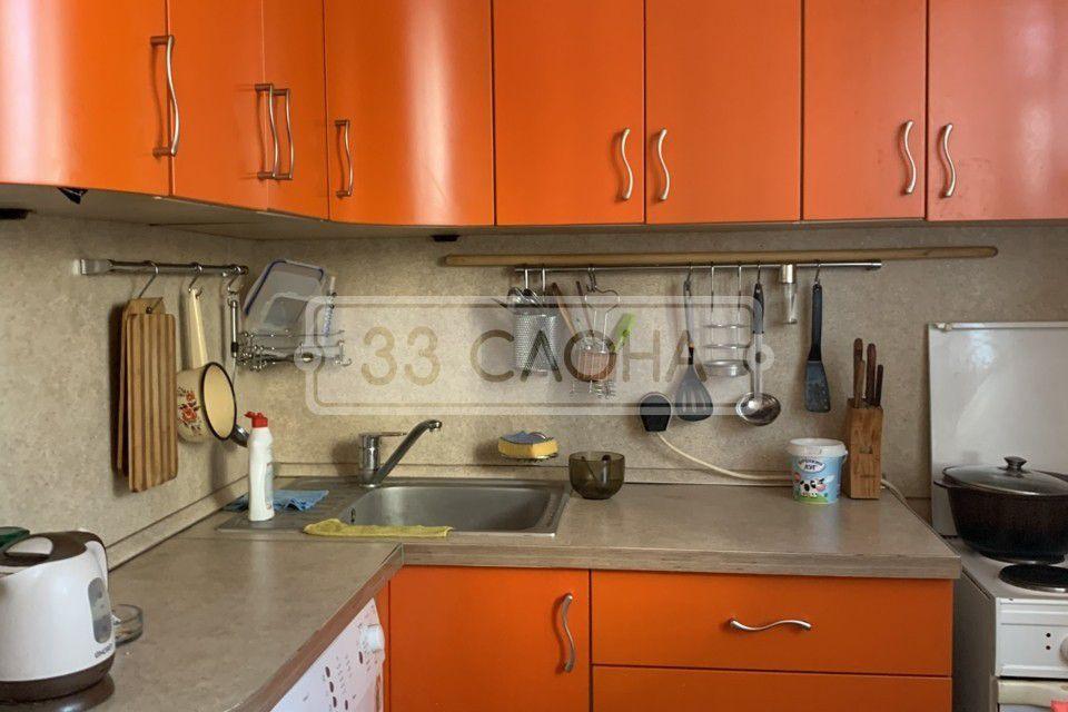 Продаётся 3-комнатная квартира, 62.8 м²