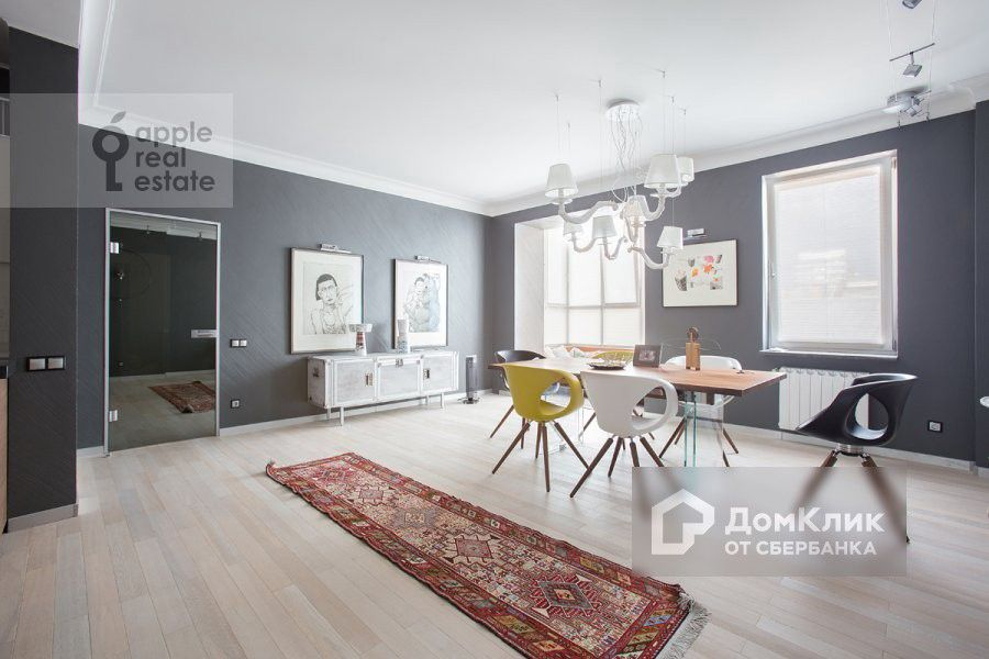 Продаётся 4-комнатная квартира, 166 м²