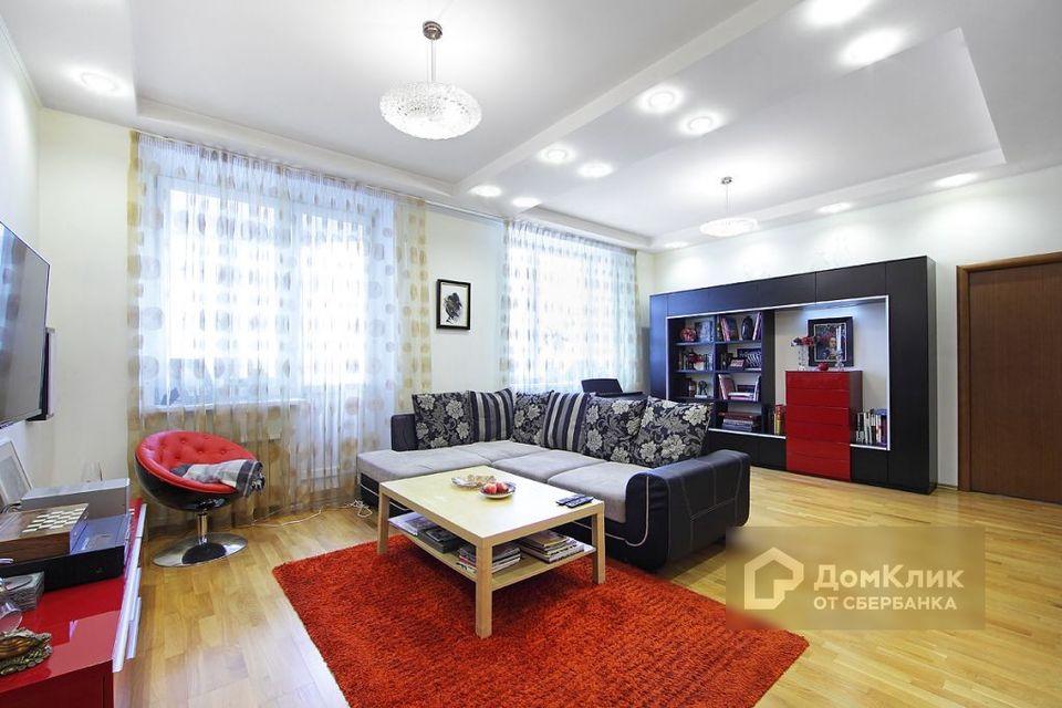 Продаётся 4-комнатная квартира, 116 м²
